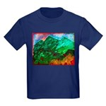 Green Mountains Kids Dark T-Shirt