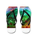 Green Mountains Flip Flops