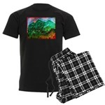 Green Mountains Men's Dark Pajamas