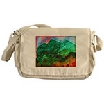 Green Mountains Messenger Bag