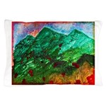 Green Mountains Pillow Case