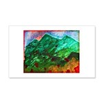 Green Mountains 20x12 Wall Decal