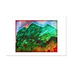 Green Mountains Mini Poster Print
