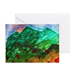 Green Mountains Greeting Cards (Pk of 10)