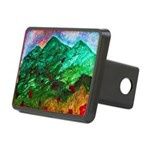 Green Mountains Rectangular Hitch Cover