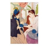 Cassatt - Tea Party Postcards (Package of 8)