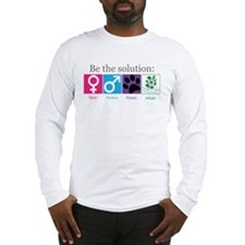 Be the Solution Long Sleeve T-Shirt