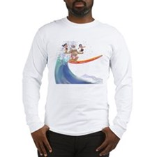 sUrFiN WiTh sAnTa Long Sleeve T-Shirt