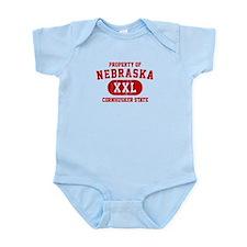 Property of Nebraska the Cornhuskers State Infant