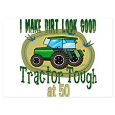 Tractor Tough 50.png Invitations