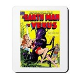 Earth Man On Venus Mousepad