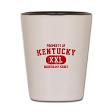 Property of Kentucky the Bluegrass State Shot Glas