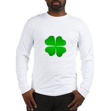 Irish Clover Long Sleeve T-Shirt