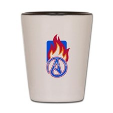 Atheist Sport Flame Shot Glass