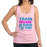 Womens Train Insane Workout Gear Racerback Tank To