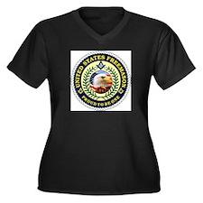 United States Freemason Women's Plus Size V-Neck D