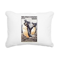 Cute Antarctic Rectangular Canvas Pillow
