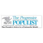 Progressive Populist Sticker (Bumper 10 pk)