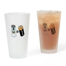 salt n battery Drinking Glass
