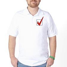 Check Mark Golf Shirt
