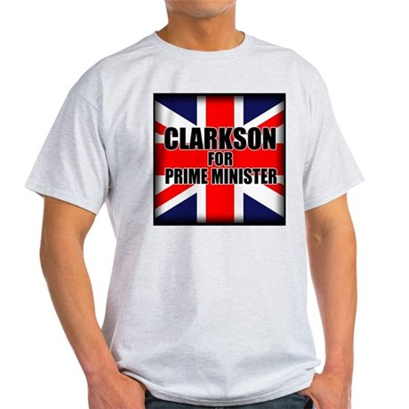 Clarkson for Prime Minister Light T-Shirt