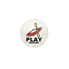 Play Outside Mini Button (10 pack)