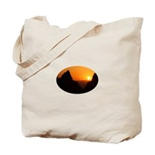 Sunset at the Window Tote Bag