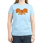 Halloween Pumpkin April Women's Light T-Shirt
