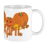 Halloween Pumpkin April Mug