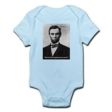 Honest Abe - WTF? Infant Bodysuit