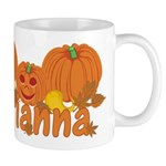 Halloween Pumpkin Arianna Mug