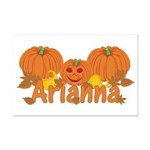 Halloween Pumpkin Arianna Mini Poster Print
