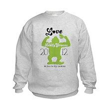Love them Leafy Greens Kids Sweatshirt