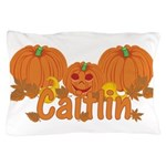 Halloween Pumpkin Caitlin Pillow Case