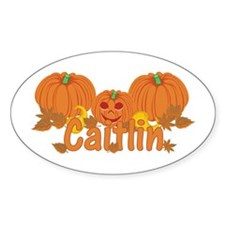 Halloween Pumpkin Caitlin Decal