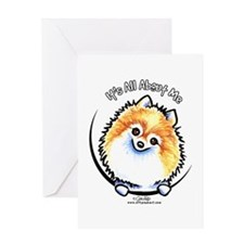 Pomeranian IAAM Greeting Card