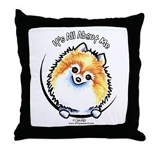Pomeranian IAAM Throw Pillow
