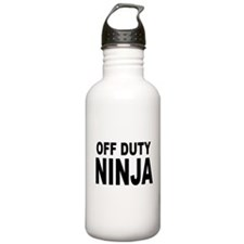 Off Duty Ninja Water Bottle