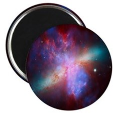 "Fiery Galaxy 2.25"" Magnet (100 pack)"