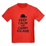Keep Calm and Carry Iocane Kids Dark T-Shirt