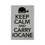 Keep Calm and Carry Iocane Rectangle Magnet