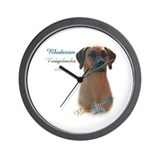Ridgeback Best Friend Wall Clock