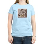 Zebra Butterfly Women's Light T-Shirt