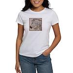 Zebra Butterfly Women's T-Shirt