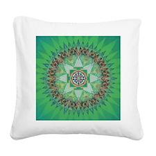 Sri Yantra Mandala Pillow