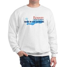 Romney Bank in Caymans Sweatshirt
