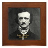 Edgar Allan Poe Framed Tile