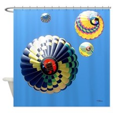 Balloon Swirls Shower Curtain