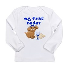 my first Seder Long Sleeve Infant T-Shirt