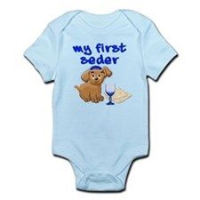 my first Seder Infant Bodysuit